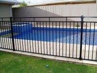 Pool fence panel