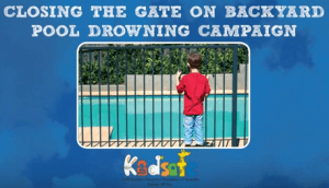 Pool fence safety campaign